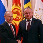 Додон принял участие в неформальном саммите СНГ по приглашению Путина (ФОТО)