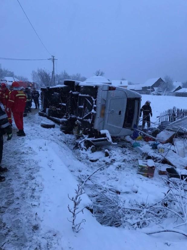 В страшной аварии в Румынии погибли двое граждан Молдовы (ФОТО, ВИДЕО)