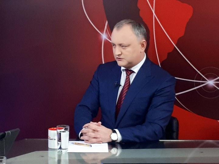 """""""Через тернии – к звёздам"""": президент попросил граждан Молдовы не терять веру в страну и бороться"""