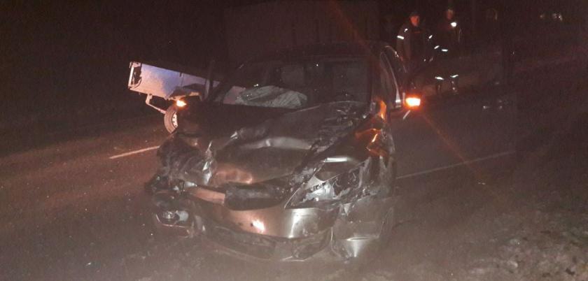 В серьезном ДТП в Теленештском районе пострадали три человека