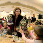 Первая леди Галина Додон устроила новогодний праздник около 200 детям Гагаузии (ФОТО)