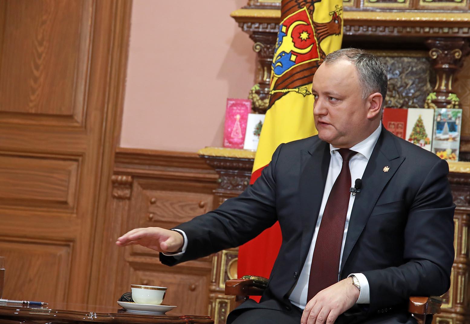 Додон: Молдова получит статус наблюдателя при ЕАЭС в ближайшие месяцы (ВИДЕО)