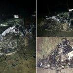 ДТП в Джурджулештах: машины разбиты в хлам, пятеро молодых людей госпитализированы
