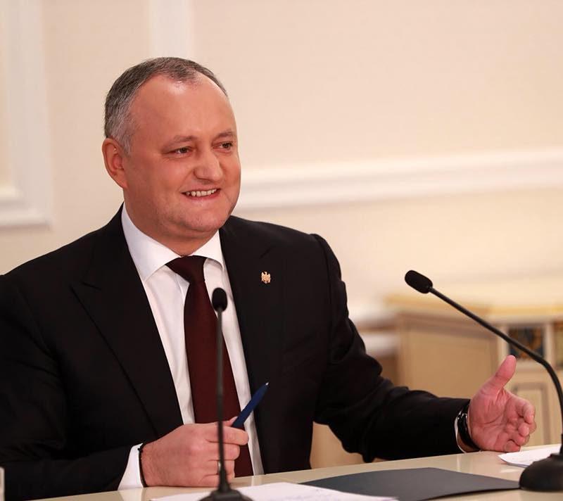 Первый год президентства Игоря Додона: факты и цифры
