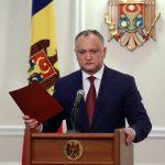 Додон рассказал о двух вариантах развития отношений Молдовы и России