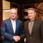 Додон: Молдавская экономика не сможет развиваться без всестороннего сотрудничества с Россией