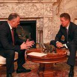 """Додон попросил у главы """"Газпрома"""" скидку в 15% на газ для Молдовы"""