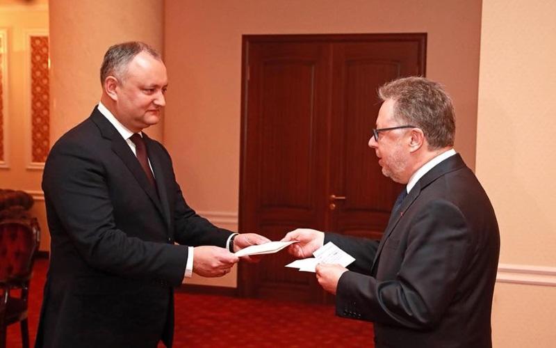 Новый посол Франции приступил к исполнению своих обязанностей в Молдове (ФОТО)