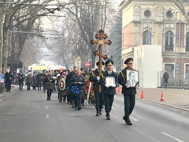 Некоторые улицы столицы временно перекроют из-за похорон Владимира Курбета