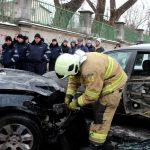 Скончавшийся в ДТП в Кишиневе водитель BMW был карабинером