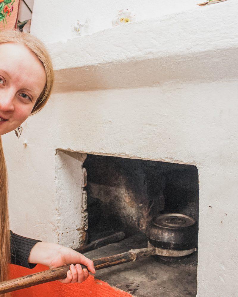 Печка для пирогов