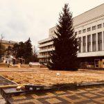 Из-за Рождественской ярмарки в центре Кишинева на месяц перекрывают дорогу