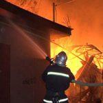 Пожар в Оргеевском районе уничтожил половину жилого дома