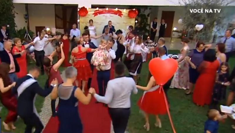Молдавскую свадьбу в Португалии показали по местному телевидению (ВИДЕО)