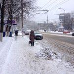 Непогода не нарушила работу общественного транспорта в столице