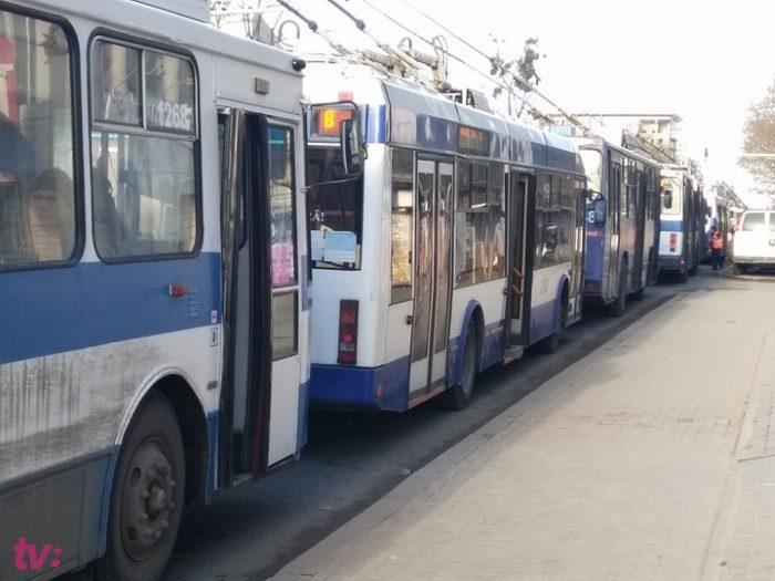 В Кишиневе открывается новый маршрут троллейбуса