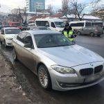 В Кишиневе владелец BMW достал пистолет и угрожал расправой другому водителю