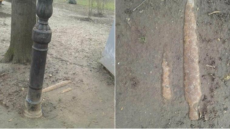 Тревога в столичном парке Штефана чел Маре: там найдены снаряды (ФОТО)