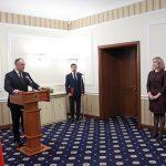 Новое руководство Нацоргана по неподкупности принесло присягу в присутствии президента (ВИДЕО)