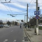 На одном из перекрестков Кишинева было реорганизовано движение