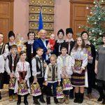 Игорь Додон принял в президентуре колядующих детей (ФОТО)