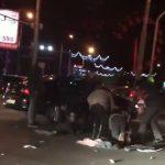 В Кишиневе машина сбила мошенника-попрошайку в инвалидном кресле (ВИДЕО)