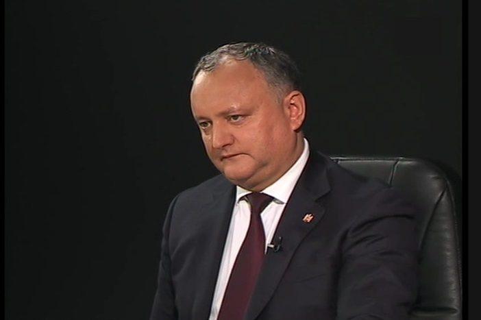 """Додон: КС, парламентское большинство и ДПМ – единая """"шарашкина контора"""" (ВИДЕО)"""
