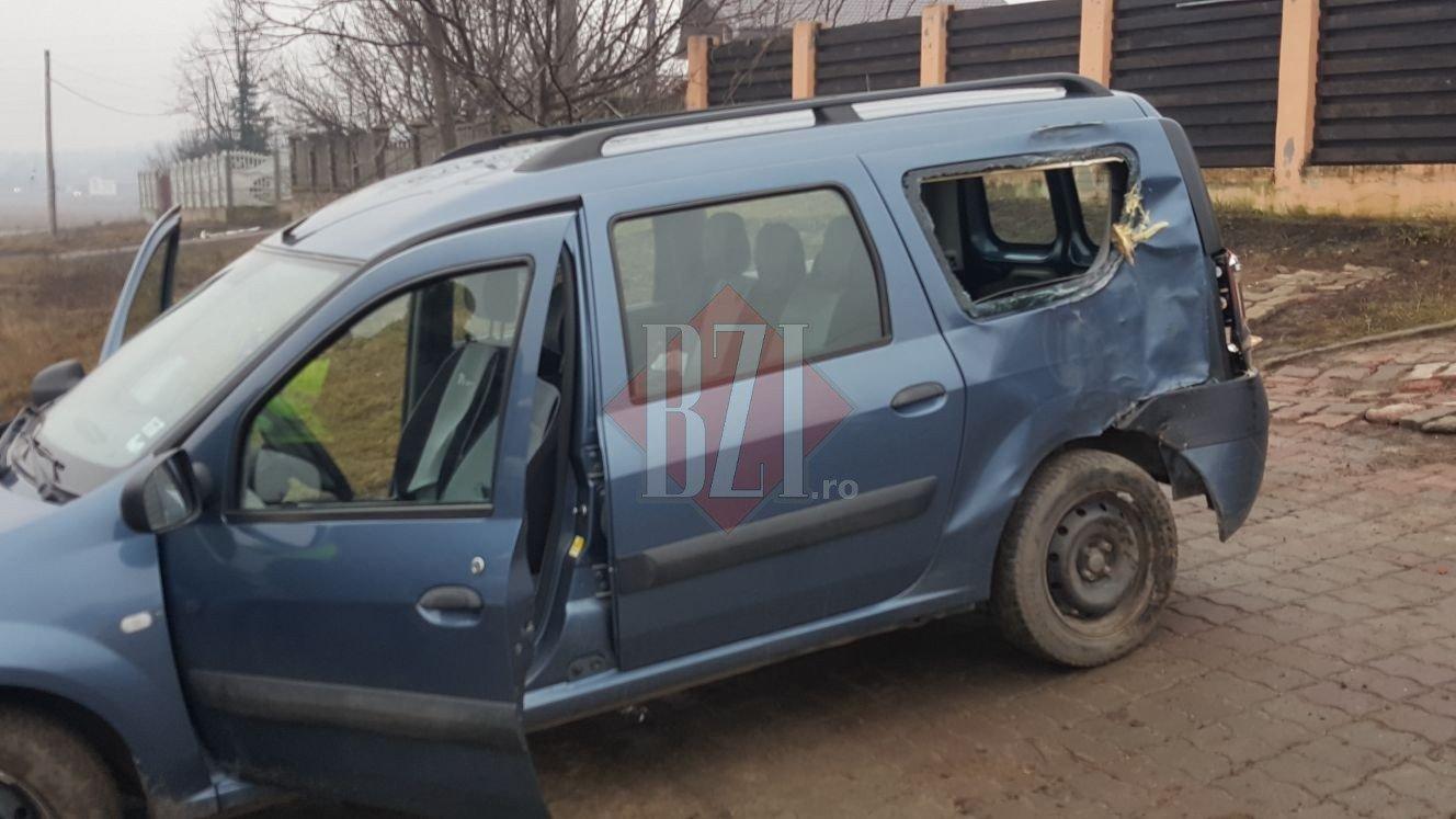 Молдаванин врезался в дерево в Румынии (ФОТО)