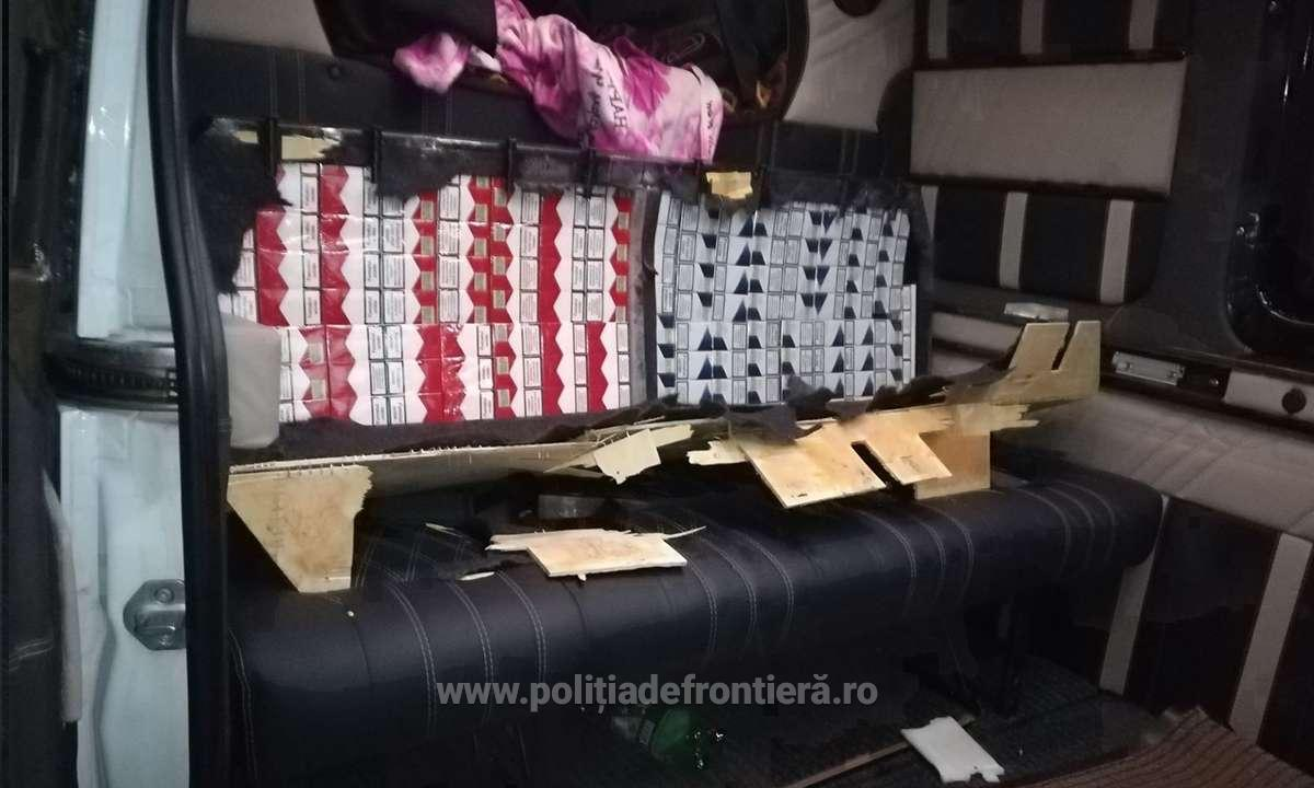 Молдаванин пытался ввезти в соседнюю Румынию сотни тысяч пачек сигарет