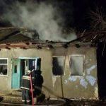 В Страшенском районе мужчина заживо сгорел в своем доме (ФОТО)