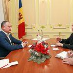 Президент выступил за плодотворное сотрудничество между Молдовой и Россией на всех уровнях власти