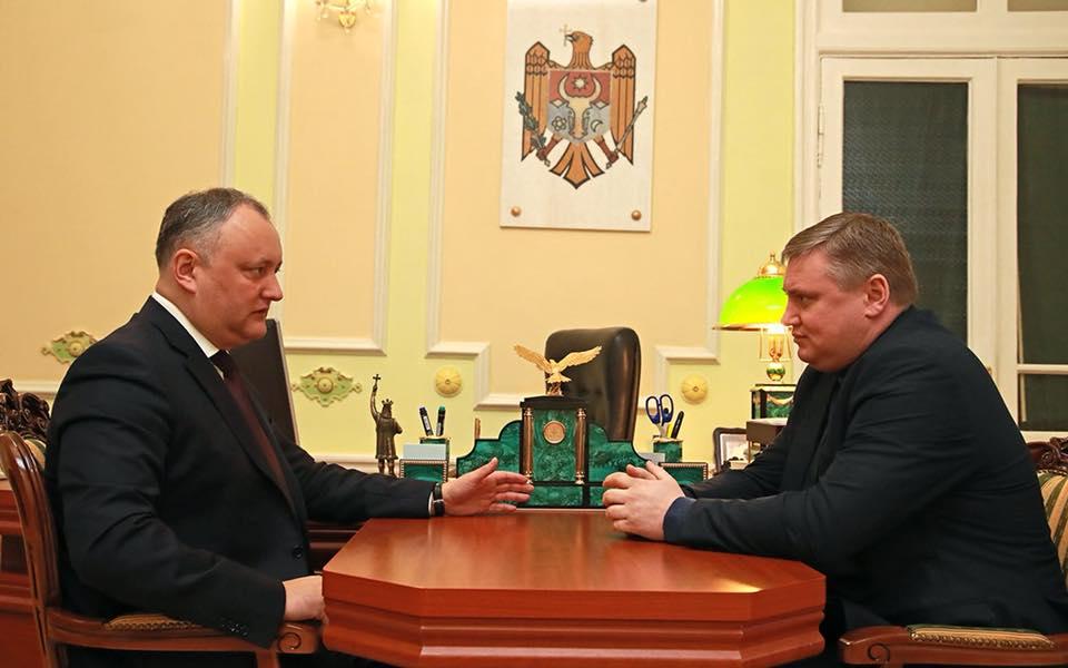 Президент намерен продолжать выстраивать конструктивный диалог между двумя берегами Днестра