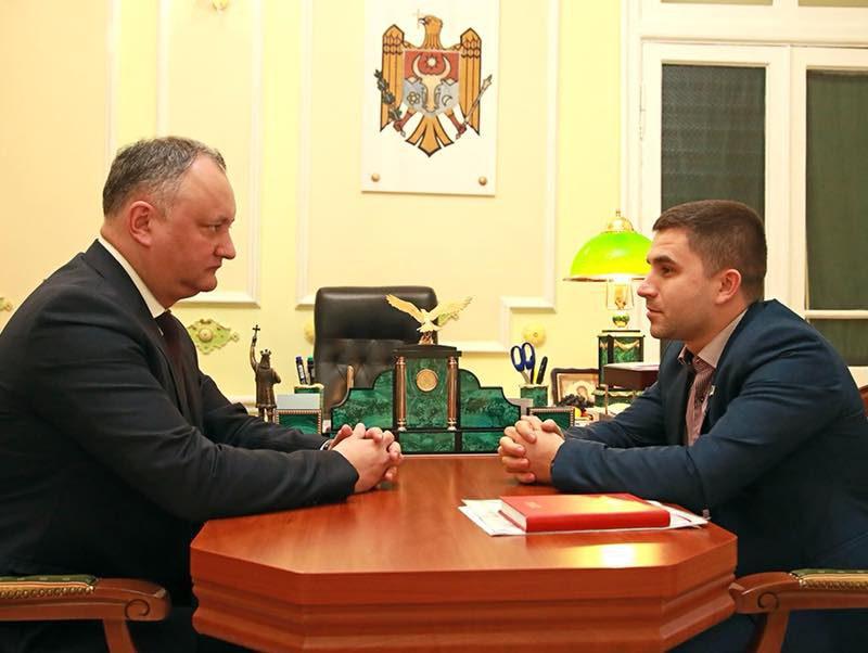 Игорь Додон пообещал помочь открыть первый дом престарелых в Бессарабке