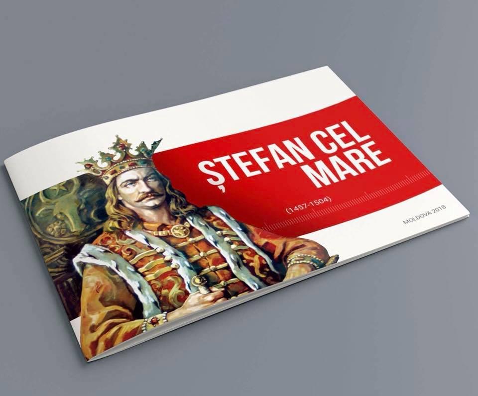 По инициативе президента по всей Молдове, а также за ее пределами раздадут сотни тысяч брошюр о Штефане Великом
