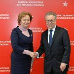 Зинаида Гречаный обсудила важные вопросы с послом Франции в Молдове