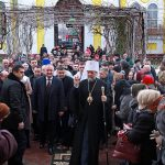 Президент принял участие в литургии в Комрате (ФОТО)