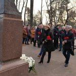 Социалисты почтили память Михая Эминеску