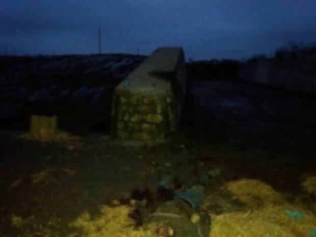 В Новых Аненах один человек погиб, а один ранен в результате взрыва снаряда