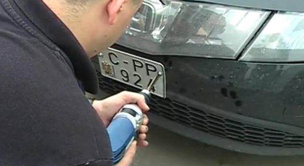 Патрульная полиция Молдовы может лишиться права снимать номера автомобилей