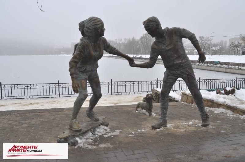 Прогулка по зимнему Кишинёву