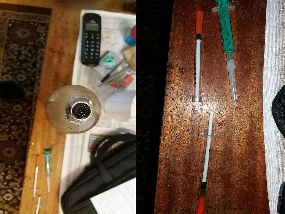 Настоящий наркопритон обнаружила в столичной квартире полиция (ВИДЕО)