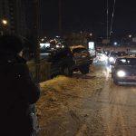 В Кишиневе автомобиль едва не упал с Измаильского моста (ФОТО, ВИДЕО)