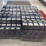 Более 1800 пачек контрабандных сигарет обнаружены на молдавской таможне (ФОТО)