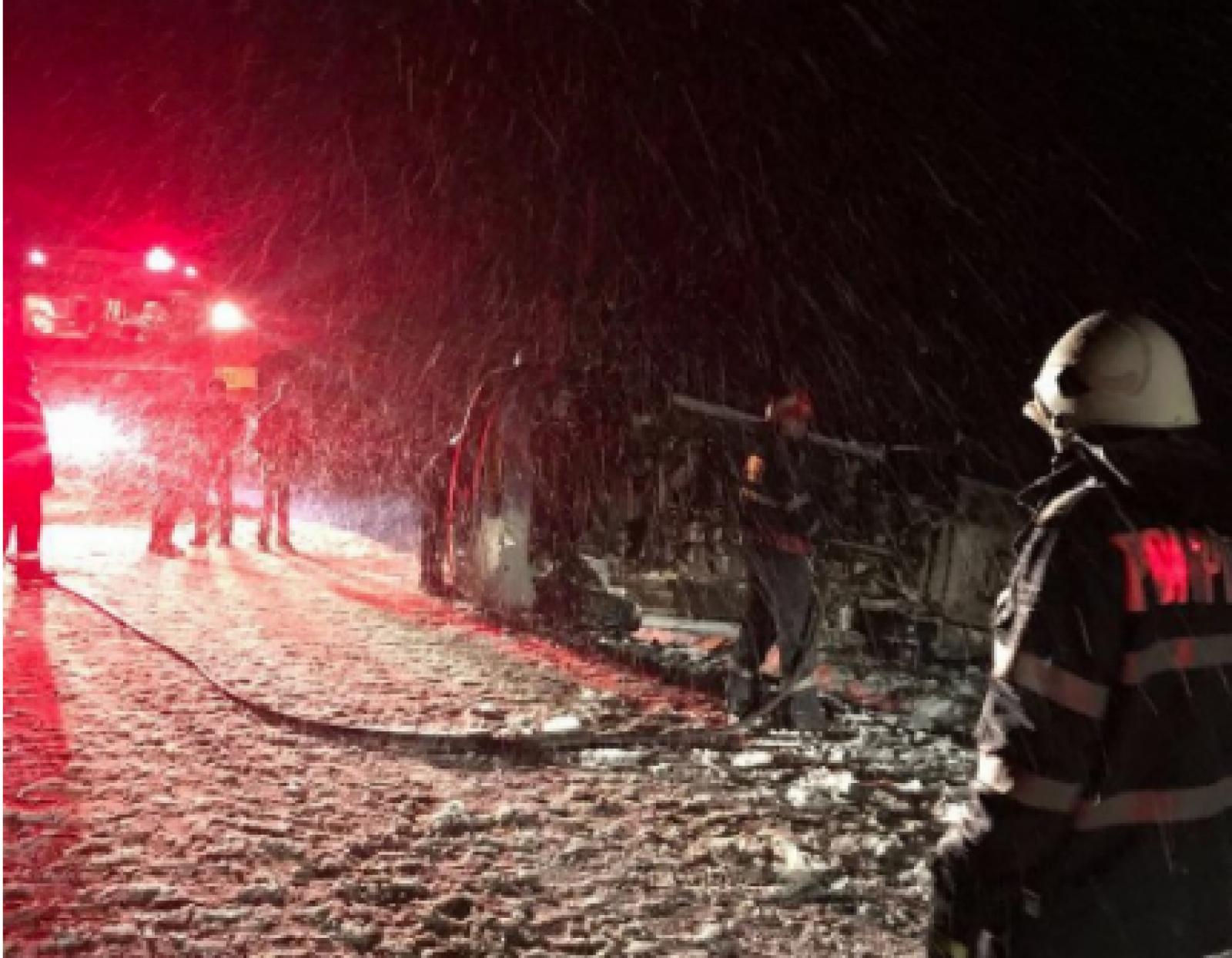 В Румынии перевернулся микроавтобус с молдаванами: есть раненые (ФОТО, ВИДЕО)