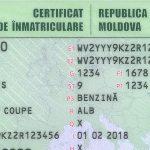 Новые техпаспорта без номера двигателя начнут выдавать в Молдове с марта (ФОТО)