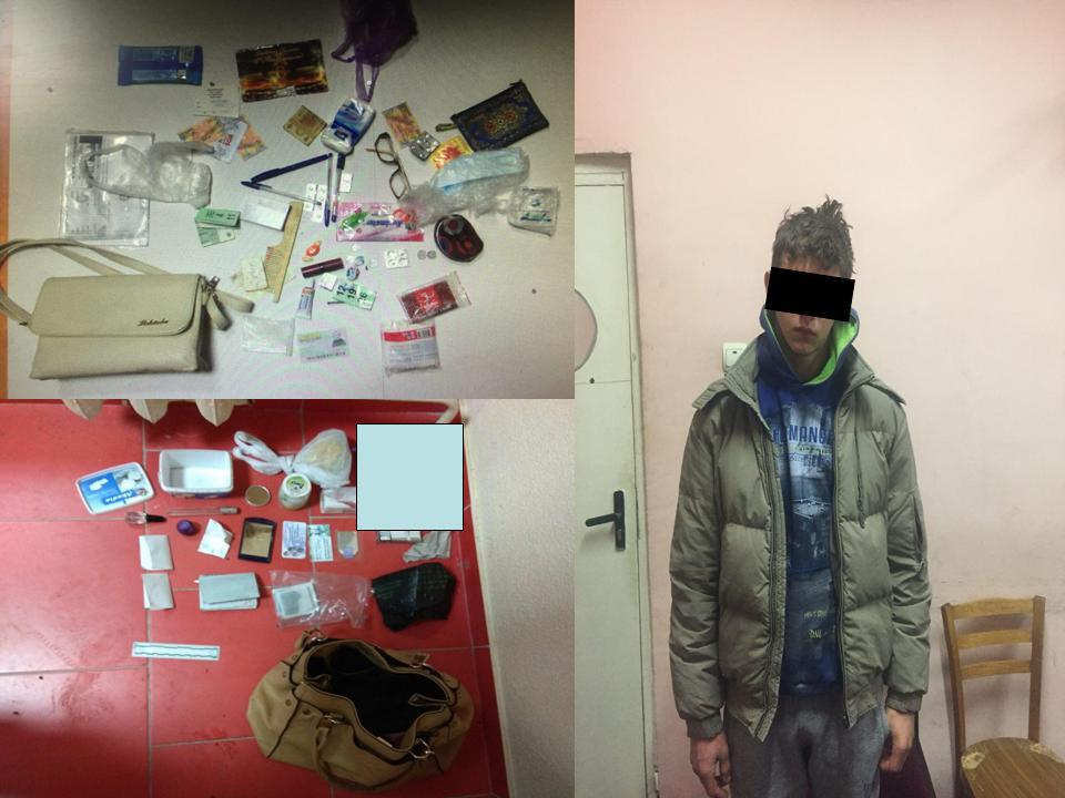 В Кишиневе подросток открыто нападал на женщин и грабил их (ВИДЕО)
