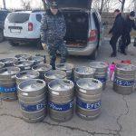 Контрабандные товары на сумму 250 тысяч леев не пустили в Молдову (ВИДЕО)