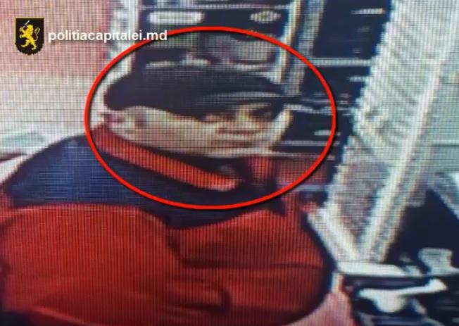 В Кишиневе разыскивают вора, запечатленного камерой видеонаблюдения