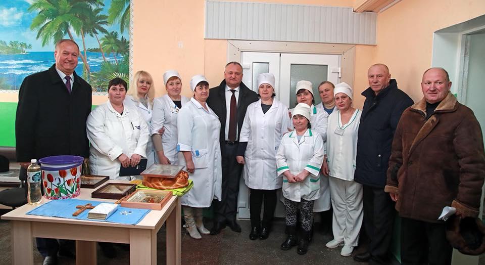 Фонд первой леди помог жителям Каларашовки сохранить местную больницу (ФОТО)
