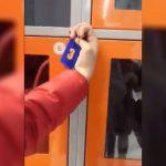"""""""Универсальный"""" ключ для всех шкафчиков в столичном супермаркете сняли на видео"""